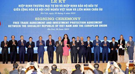 EU i Vijetnam potpisali sporazum o slobodnoj trgovini