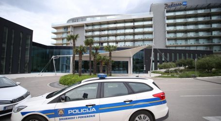 Jedna osoba ozlijeđena u požaru u splitskom hotelu Radisson Blu