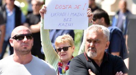 U Čakovcu održan prosvjed protiv romske nacionalne manjine