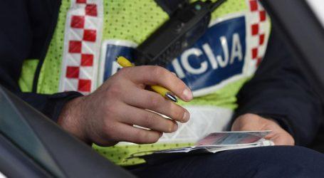 Policija kod Koprivnice vozača kaznila s 18 tisuća kuna