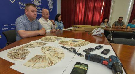 Zadarska policija uhitila trojicu muškarca koji su ukrali više od 100 tisuća kuna