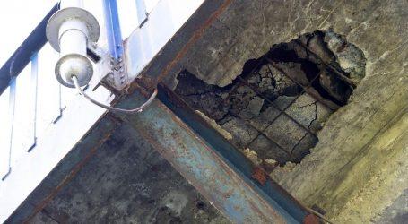 """GRAD: """"Mostovi pregledani još lani, troškovi sanacije 257 milijuna kuna"""""""