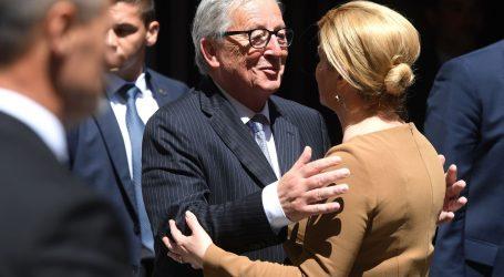 Juncker se zahvalio premijeru i predsjednici