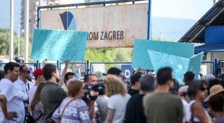 U Zagrebu prosvjed zbog Hipodroma