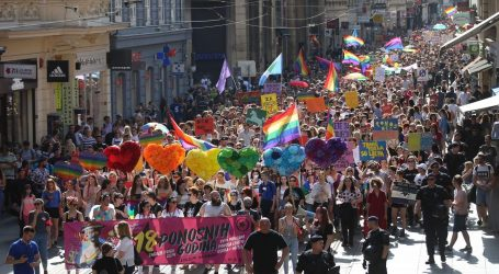 ZAGREB PRIDE: 18. Povorka ponosa bez incidenata