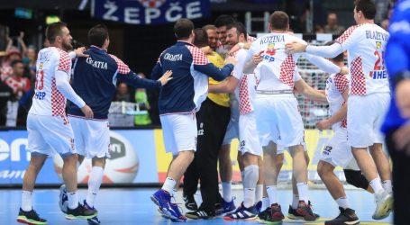 Hrvatska protiv Srbije, Crne Gore i Bjelorusije na rukometnom Euru