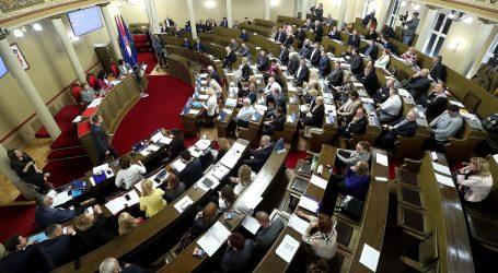 Na zagrebačkoj skupštini zaduživanje grada za 350 milijuna kuna