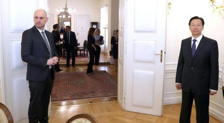 Tolušić s kineskim kolegom Hanom obišao Ston