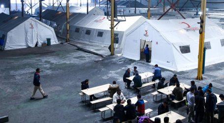 Sukob policije i ilegalnih migranata u Bihaću