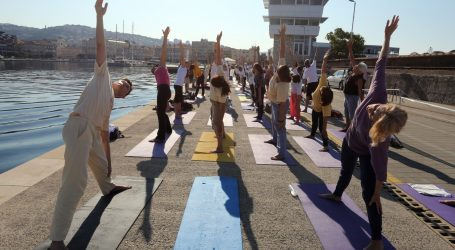 Međunarodni dan joge Riječani će obilježiti vježbanjem na Molo longu