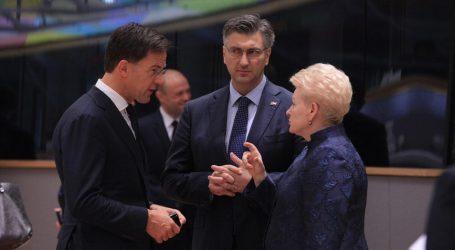 Plenković nije isključio mogućnost da hrvatski dužnosnici budu kandidati za EK