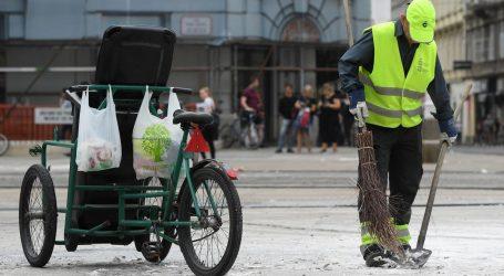Jučer u centru grada pretučen radnik Čistoće, reagirali iz Zelene akcije