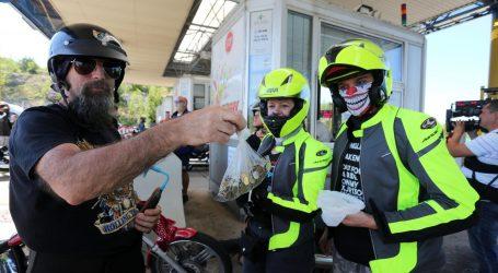 Motociklisti prosvjeduju protiv naplate mostarine na Krčkom mostu