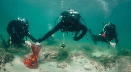 FOTO: Hrvati i Slovenci zajedno očistili veliki dio podmorja Savudrijske vale