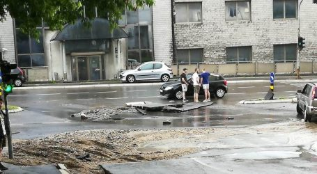 Pljusak i bujice poplavile Beograd