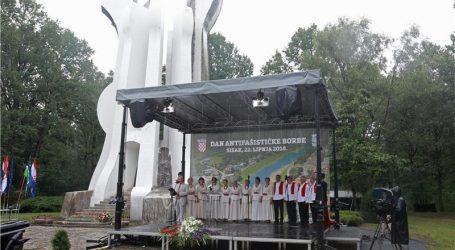 Svečano obilježavanje Dana antifašističke borbe u šumi Brezovici kod Siska