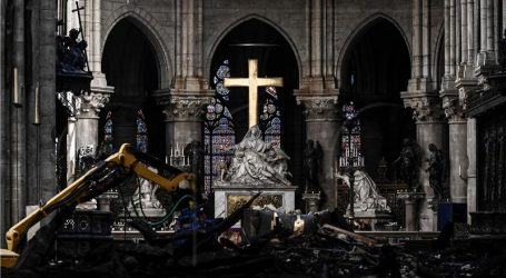 Predistraga pokazala da požar u Notre-Dameu nije podmetnut