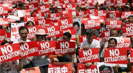 Deseci tisuća na prosvjedu u Hong Kongu protiv izručenja osumnjičenih Kini