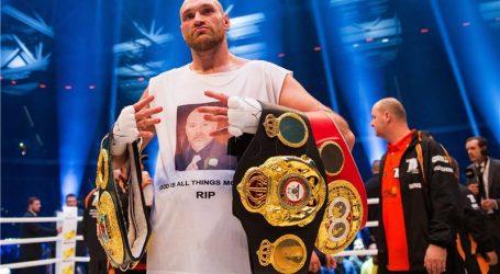 Tyson Fury: Joshua može trenirati koliko hoće, ali s njim je gotovo