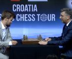 Magnus Carlsen i Andrej Plenković povukli prvi potez