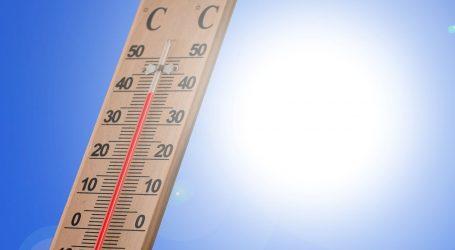 Sunčano i vruće, temperature idu do 34°C