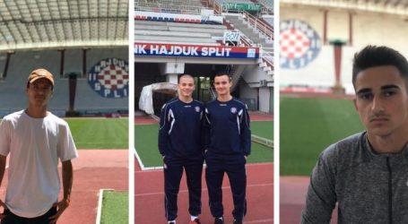 Pet mladih reprezentativaca Kosova na probi u Hajduku