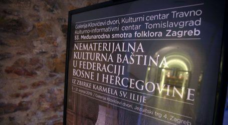 Otvorena izložba posvećena nematerijalnoj kulturnoj baštini u BiH