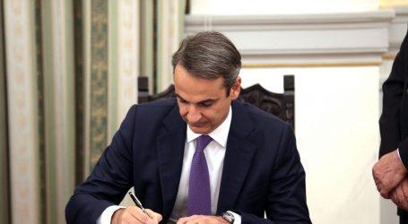 Micotakis prisegnuo za grčkog premijera i imenovao kabinet