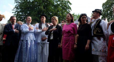 Švicarska: Grabar-Kitarović se sastala s hrvatskim iseljenicima