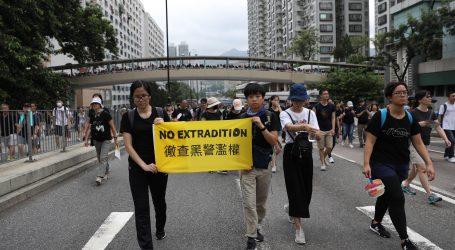Prosvjedi u Hong Kongu protiv vlade i policije