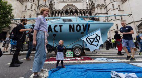Ekološki aktivisti izašli na ulice britanskih gradova