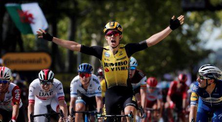 Tour: Wout van Aertu etapa, a Alaphilippe zadržao žutu majicu