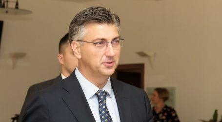 """PLENKOVIĆ """"HDZ-ovi zastupnici i parlamentarna većina zadovoljni predloženim ministrima"""""""