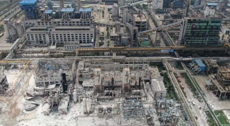 U eksploziji kineskog plinskog postrojenja poginulo 12 osoba