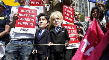 U Londonu prosvjedi proeuropski orijentiranih prosvjednika