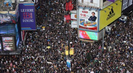 Masovni prosvjedi u Hong Kongu: traži se istraga policijskog nasilja