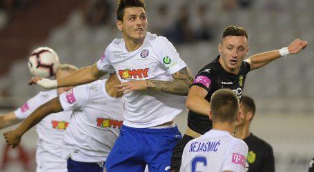 PRVA HNL Hajduk otvorio prvenstvo pobjedom