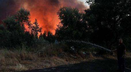 Snažni vjetrovi šire požare u Portugalu