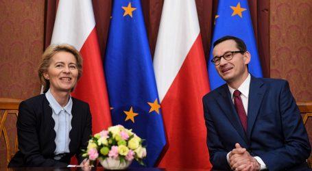 "STIGLA DER LEYEN Poljska se nada ""Europi kompromisa"""