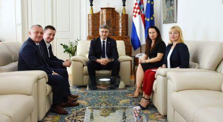 Peruško i Weber izvijestili premijera Plenkovića o situaciji u Fortenovi