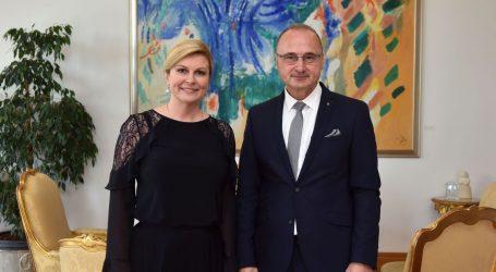 Predsjednica primila novog šefa hrvatske diplomacije
