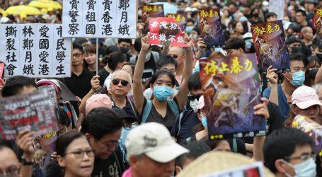 Tisuće ljudi prosvjeduje u središtu Hong Konga protiv izručenja