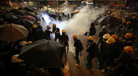 Peking osudio prosvjede u Hong Kongu