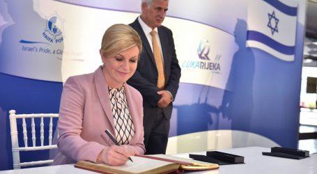 Predsjednica u Haifi inaugurirala katamaran, potpisan sporazum Haife i Rijeke