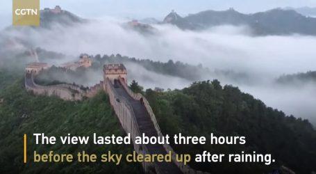 VIDEO: Dio Kineskog zida pod niskim oblacima