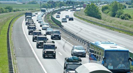 Jak vjetar otežava promet, nesreće na A2 i A7