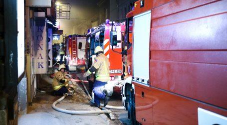 SARAJEVO Požar u prodavaonici boja i lakova gotovo uništio stambenu zgradu