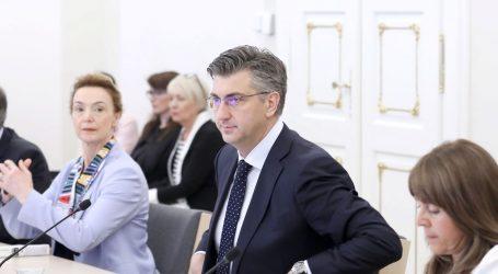 Plenković HDZ-ovcima predstavlja Malenicu