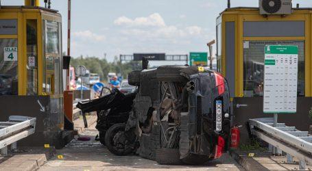 Vozač koji je prouzročio stravičnu nesreću na naplatnim kućicama pušten kući