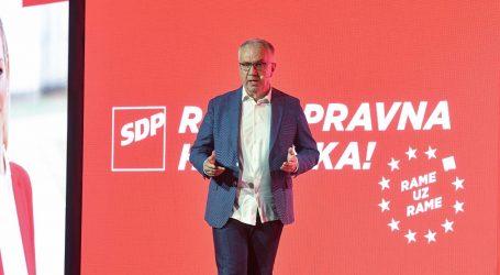 """SDP """"Izbori odmah"""""""
